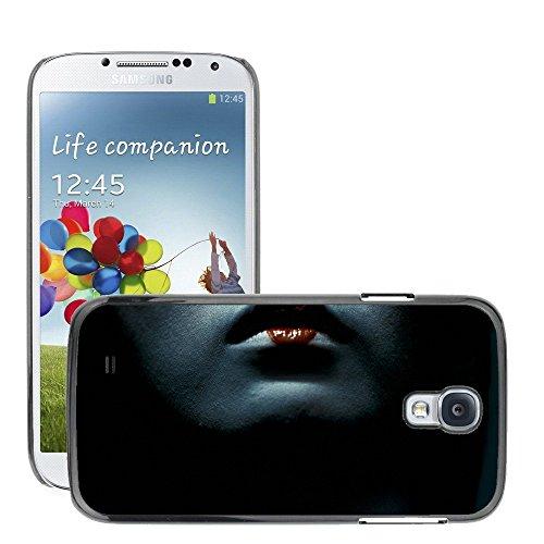 Premium Slim Polycarbonate Aluminium Cassa del telefono Custodia Case Bandiera Cover Armor // M00047999 lips geisha aero black // Samsung S4 i9500 - Aero Lip