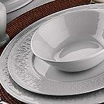 Kütahya Porselen Açelya 53 Parça 12 Kişilik Yemek Takımı