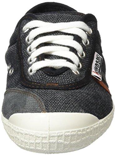 Kawasaki Retro Sticth, Baskets Basses Mixte Adulte Gris (Grey)