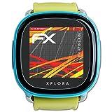 atFoliX Folie für XPlora Kids Displayschutzfolie - 3 x FX-Antireflex-HD hochauflösende entspiegelnde Schutzfolie