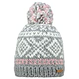 Barts Unisex Baskenmütze Log Cabin, Grau (Heather Grey), One size (Herstellergröße: Unica)