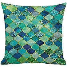 Cojines pillow Fundas Protectores Cojines y accesorios Decoración del hogar Hogar y cocina,Ocio colorido