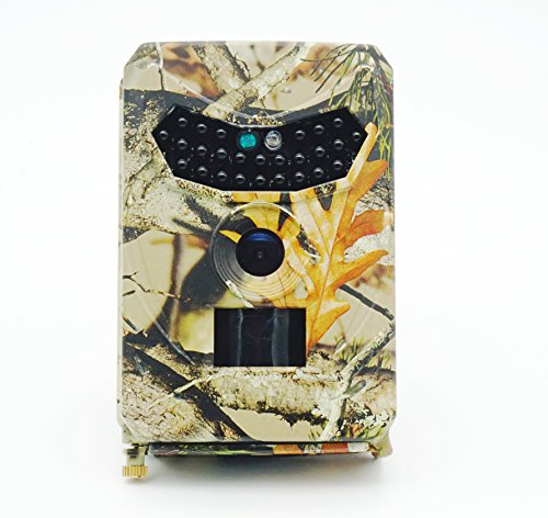 EMEBAY - 12 MP 1080P HD Infrarot Game & Trail Kamera 26 Stück IR LEDs 120° Weitwinkel Nachtsicht Wasserdicht Jagd Scouting Kamera Digitale Überwachungskamera Infrarot-trail-kameras