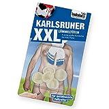 Karlsruher Spezial-LÜMMELTÜTEN: Mini-Kondome zum Schutz vor unerwünschter Vermehrung von KSC-Fans! Alle Freiburg, Hoffenheim & Fußball-Fans Aufgepasst | Fanartikel zum Überraschen, Lachen & Ärgern