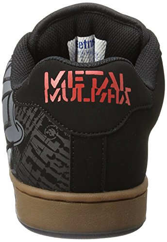 Etnies Herren Metal Mulisha Fader Skateboardschuhe Schwarz (Black/Gum/Grey)