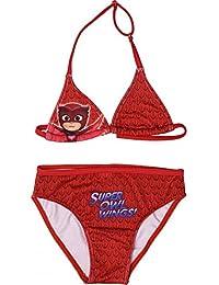 da39b719dda7 PjMasks Superpigiamini - Costume Bikini 2 Pezzi Full Print Mare Piscina -  Gufetta - Bambina -
