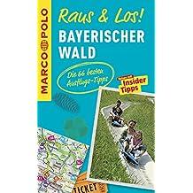 MARCO POLO Raus & Los! Bayerischer Wald: Guide und große Erlebnis-Karte in praktischer Schutzhülle