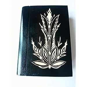 Große riesige schwarz magische geheimnisvolle Zauberer Puzzle Buch – Kasten mit Geheimfach innen Überraschung…