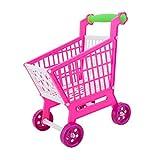 MagiDeal Miniatur Supermarkt Einkaufen Für Kinder Rollenspiel Spielzeug Rosa