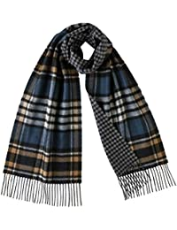5b0cd5229ee Johnstons Of Elgin - Pure Cashmere Scarf - Reversible