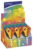 Westcott 2151s Ciseaux pour enfants avec dentelle pour droitiers et gauchers, 13cm, dimensions Lot de 30Assorties 5cm