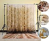 NIVIUS PHOTO 150x220cm Waschbare Baumwolle Polyester Wasserdicht Weihnachten Holzboden Fotografie Hintergrund Fotostudio Familie Neugeborenen Pet Geschenke Dekoration Requisiten XT-2661