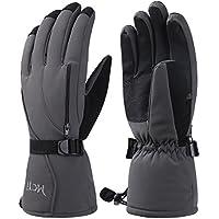 MCTi Skihandschuhe, Herren Ski Snowboard Handschuhe Wasserdicht Warm Winterhandschuhe Winddicht Thermo 3M Thinsulate