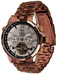 Lindberg & Sons Reloj Automático piraeus Acero/, color plateado/marrón