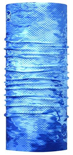 BUFF® SET - ANGLER HIGH UV Schlauchtuch + UP® Ultrapower Schlauchtuch | Unisex | UV-Schutz | Antibakteriell | Geruchshemmend | Sturmhaube | Halstuch | Schal, BUFF Design:PELAGIC CAMO - 100515.AN (Camo Pelagic)