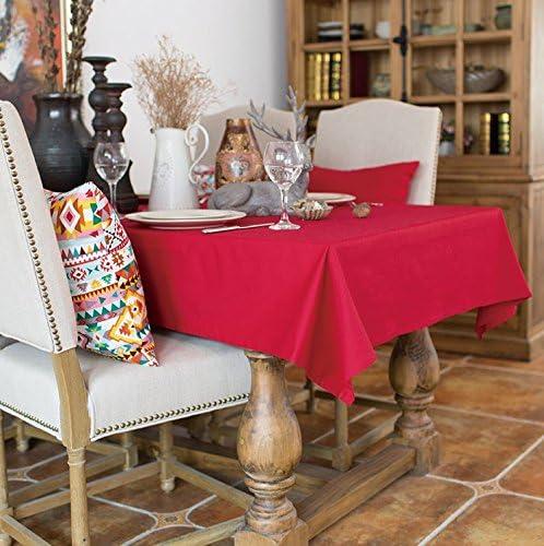 130 130 130 x 180 cm rosso solido Mordern scandinavo Instagram Garden picnic rettangolare da pranzo tovaglia in cotone lino quadrato eco-friendly copre B076BGS6ZS Parent | Vari disegni attuali  | Beautiful  | Ideale economico  72acfc