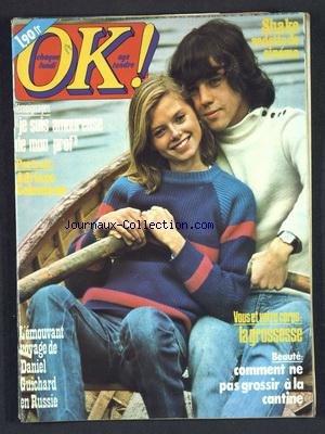 OK [No 94] du 31/10/1977 - LA GROSSESSE - COMMENT NE PAS GROSSIR A LA CANTINE - SHAKE VEDETTE DE CINEMA - JE SUIS AMOUREUSE DE MON PROF - ADRIANO CELENTANO - LE VOYAGE DE DANIEL