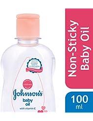 Johnson's Baby Oil with Vitamin E (100ml)