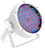 Cameo Light CLPFLAT1RGB10IRWH Scheinwerfer Spot mit weißen Gehäuse und IR-Fernbedienungsoption