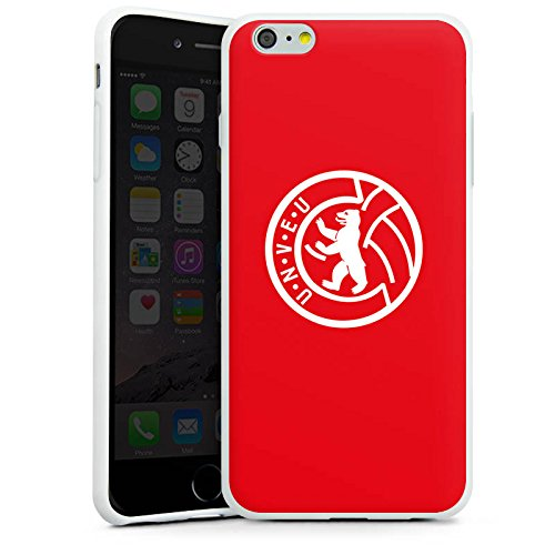 Apple iPhone 6s Hülle Case Handyhülle 1. FC Union Berlin Fußball Fanartikel Silikon Case weiß