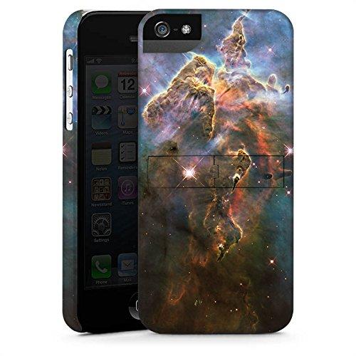 Apple iPhone X Silikon Hülle Case Schutzhülle Mystic Mountain Galaxy Space Premium Case StandUp