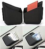 itimo 2Universal Auto Organizer Aufbewahrungstasche Box für Ford Focus 23Fiesta Mondeo Focus MK2MK3Toyota RAV4Auto-Styling-Zubehör (schwarz)