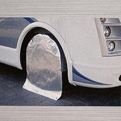'Hinder Uomo ruota Custodia Reflex Alu fino a 69cm di diametro, Ruota Protezione Solare per roulotte e camper