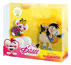 Bullyland 43467-Figura de Juguete Juego-Diddl Forever-Depesche Lina con Flores y galupy