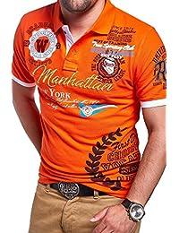 MT Styles Polo MANHATTAN manches courtes T-Shirt MP-306