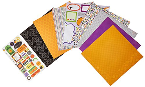 Doodlebug Paper Plus Value Pack 12Zoll x 12Zoll 1-Halloween, andere, Mehrfarbig (X Halloween Project)