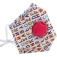 Kids Staubdicht Gesichtsmaske Baumwolle Mundmaske mit verstellbaren Trägern,#13 preisvergleich bei billige-tabletten.eu