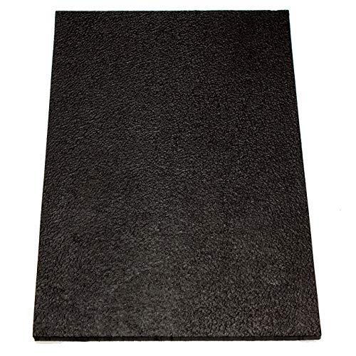 Absatzgummi groß, schwarz von Langlauf Schuhbedarf®