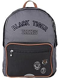 Sac a dos L Ardoise IKKS Black Tiger