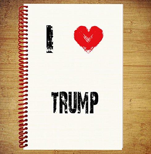 a5-ordinateur-portable-agenda-de-bloc-de-dessin-des-plans-de-pensees-idees-i-love-trump