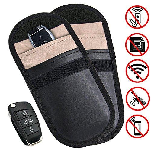 ✅Autoschlüssel Signal Blocker Fall Eintrag Fob Guard Blocking Pouch Tasche Verteidigen WIFI / GSM / LTE / NFC / RF Fernbedienungen Antidiebstahl Sperren Geräte Abschirmung Gesunde Handy Kreditkartenschutz