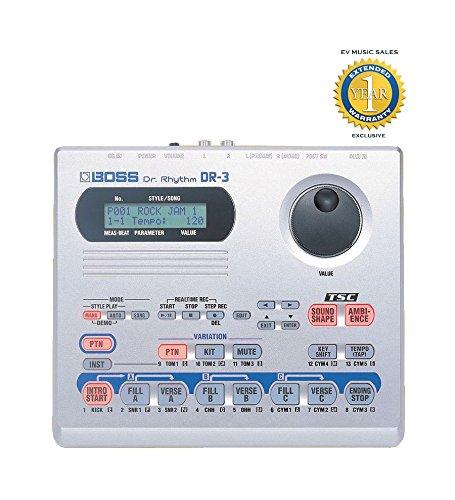 BOSS DR-3 DR. RHYTHM Drum Machine (Alesis-drum-machine)
