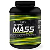 Inlife Muscle Mass Gainer With Whey Protein Powder Body Building Supplement