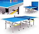 Premium Tischtennisplatte OUTDOOR Aluminium Composit Gewicht: 74 kg 75 mm