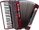 Weltmeister Piano Akkordeon Saphir rotperloid