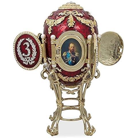 1893 Kaukasus Russische Fabergé-Ei