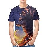21d794849b Styledresser A Buon Mercato Unisex 3D Animale Estate Casuale Manica Corta T  Shirt Tees Maglietta da