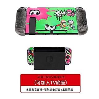 Nintendo Switch Hülle Hartschale Protective Case Steckbare Schalterbasis Spiel Thema - Splatoon2