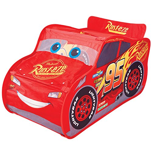 Disney Cars 167CAZ Yes Lightning-Mcqueen Pop-Up-Spielzelt
