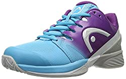 Head Women s Nitro Pro Tennis Shoe Aqua/Violet 9.5 B(M) US