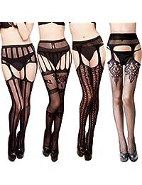 Amazon.fr   robe sexy femme - Chaussettes et collants   Femme ... 3e2c104de4e