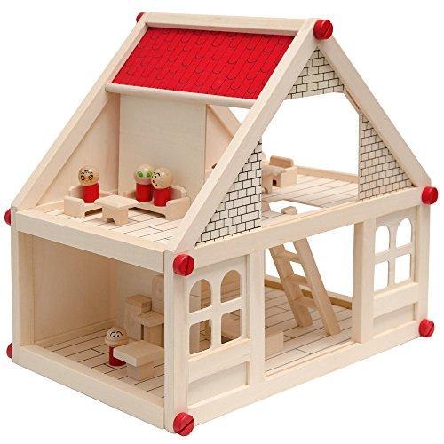 Casa de Muñecas en Madera para niños y niñas