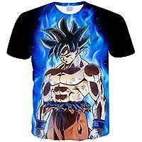 408eacc29 Camiseta Dragon Ball Niño Unisex 3D Impresión Hombres Mujer Camisetas y  Camisas Deportivas Camisetas de Manga