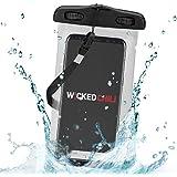 Wicked Chili Beach Bag Pochette étanche universelle pour smartphone Samsung Galaxy S4, S3, Note 3, Note 2, S4mini, S3mini, Ativ S, Ace2, S Duos, S II Plus, Nokia Lumia 1020, 925, iPhone 5S, 5C, 5, 4S, 4, 3, iPod Touch 5,4,3,2, Huawei Y300, P6, P1, G510, G525, HTC One, One mini, LG Optimus L5, L7, 4X, Sony Xperia Z, J, T, L, E, tipo Protège contre poussière, sable, crème et eau Taille max. écr