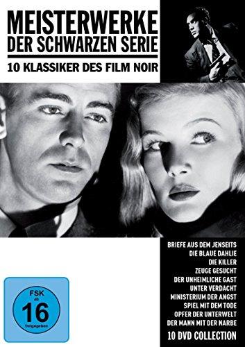 Meisterwerke der Schwarzen Serie - 10 Klassiker des Film Noir [10 DVDs]