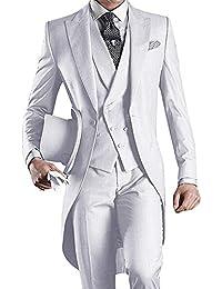 a2765ea4967b Suchergebnis auf Amazon.de für  herrenanzug business - Weiß   Anzüge ...